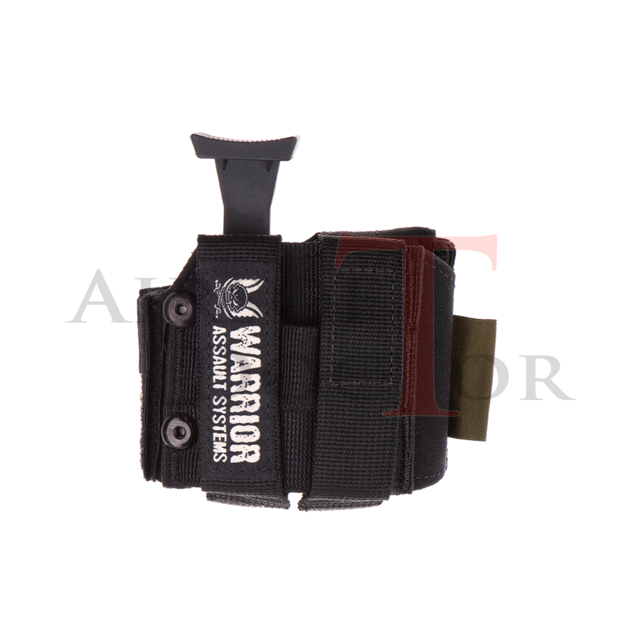 universal Pistol Holster LEFT - Black-2