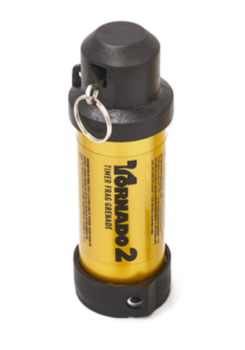 Airsoft Innovations Tornado 2 Timer Frag Grenade - Gold