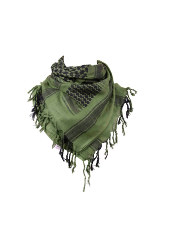 101Inc. Scarf - Black/Green