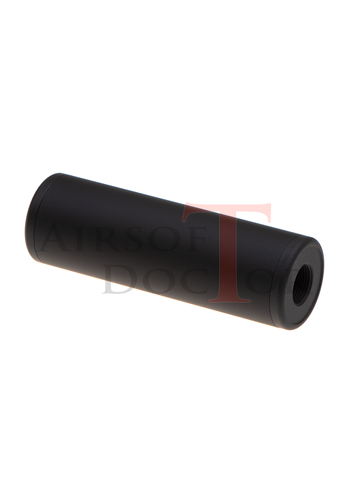 Metal 130x32mm Smooth Silencer