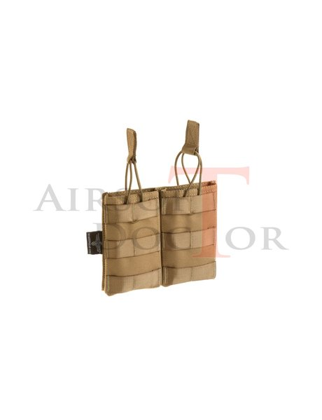Invader Gear 5.56 Double Direct Action Mag Pouch - Coyote/Tan