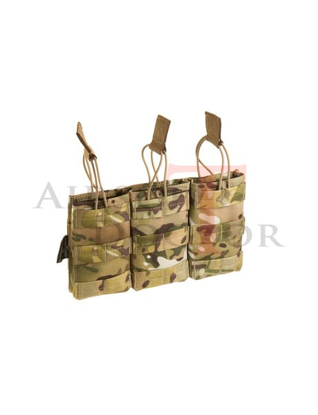 Invader Gear 5.56 Triple Direct Action Mag Pouch - Multicam