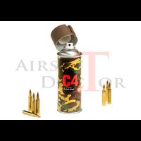 thumb-C4 Mil Grade Color Spray RAL8027-2