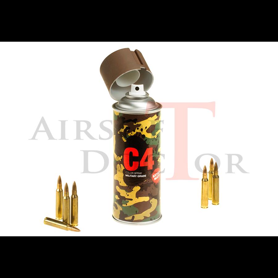 C4 Mil Grade Color Spray RAL8027-2