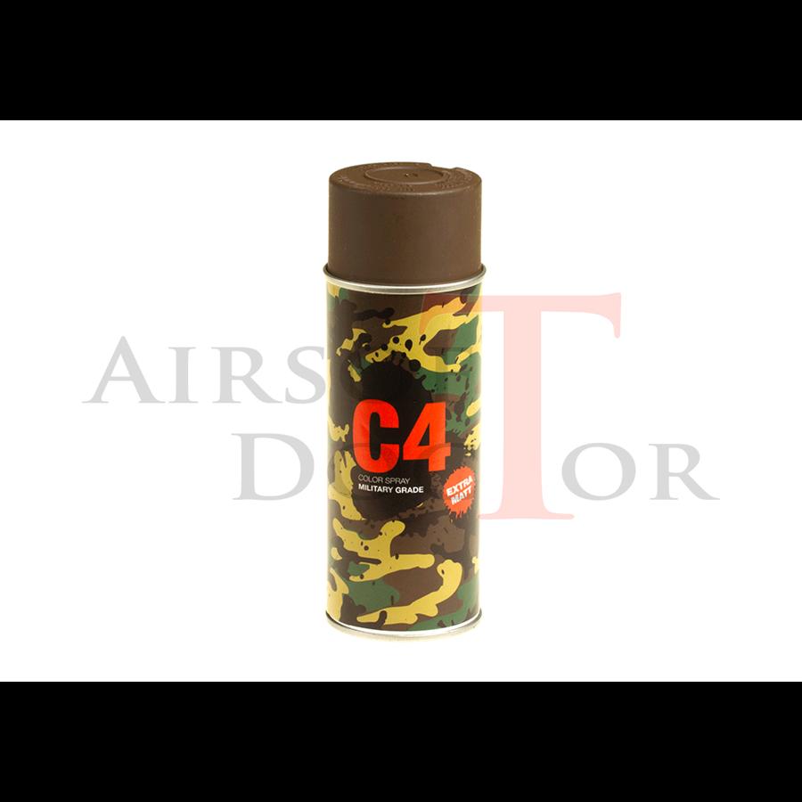 C4 Mil Grade Color Spray RAL8027-1