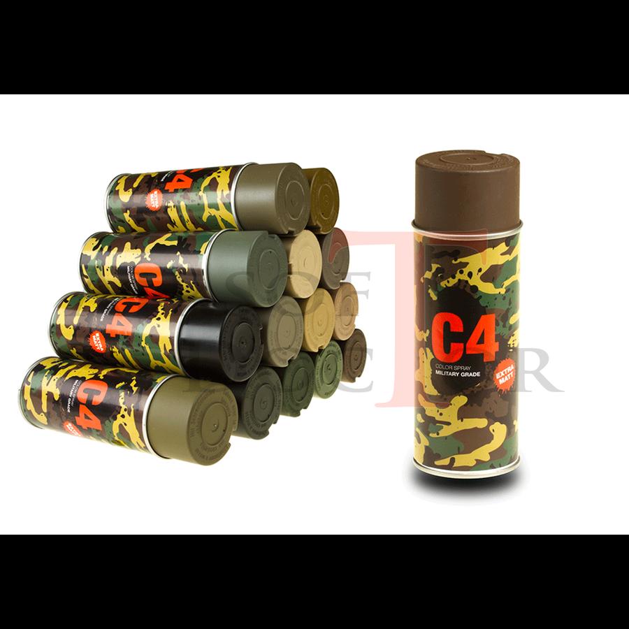 C4 Mil Grade Color Spray RAL8027-3