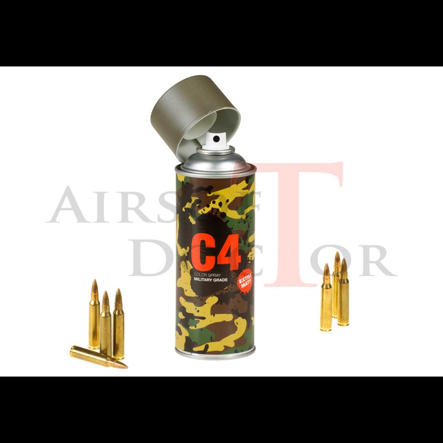 C4 Mil Grade Color Spray RAL 7013-2