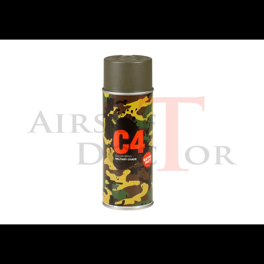 C4 Mil Grade Color Spray RAL 7013-1
