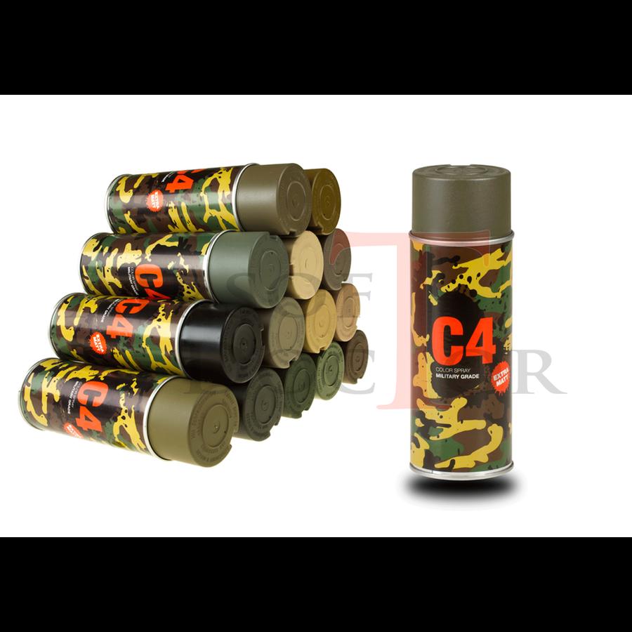 C4 Mil Grade Color Spray RAL 7013-3