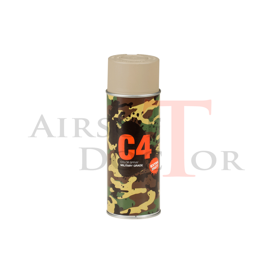 C4 Mil Grade Color Spray RAL 1019-1