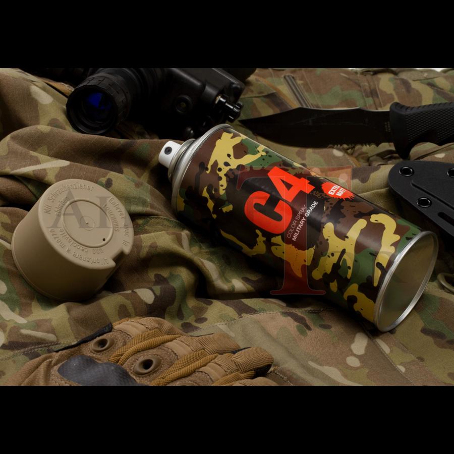 C4 Mil Grade Color Spray RAL 1019-4
