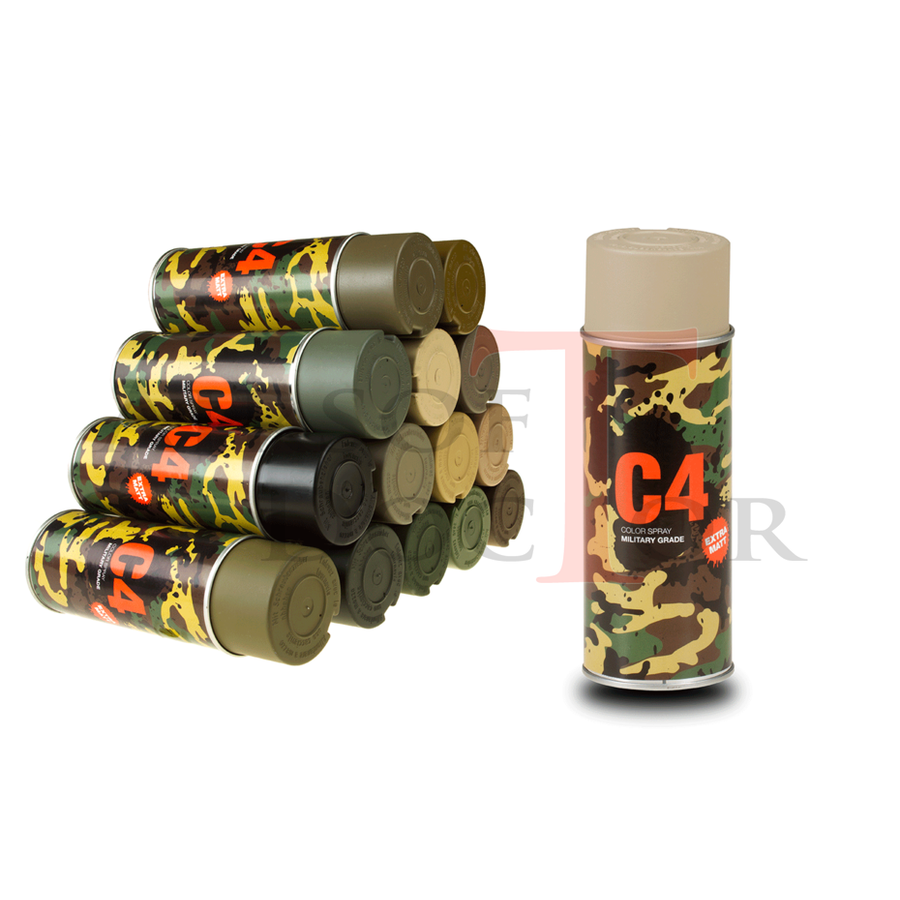 C4 Mil Grade Color Spray RAL 1019-3