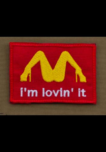 Patch - Im lovin It Red
