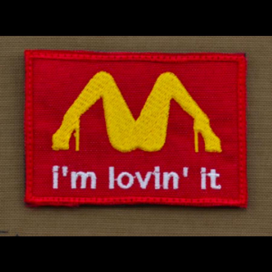 Patch - Im lovin It Red-1