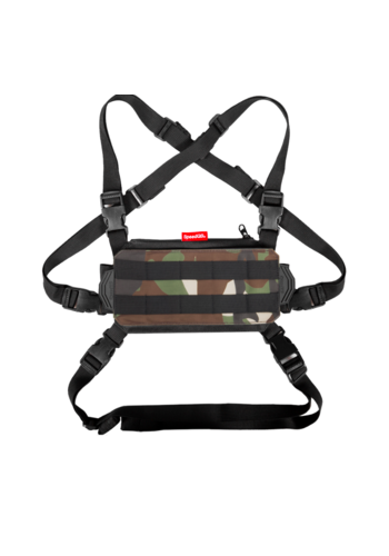 SpeedQB NUCLEUS CHEST RIG (NCR) – WOODLAND CAMO