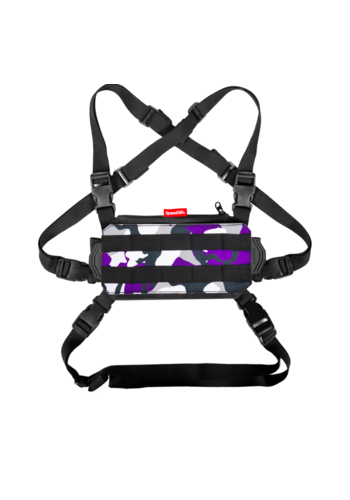 SpeedQB NUCLEUS CHEST RIG (NCR) – PURPLE CAMO