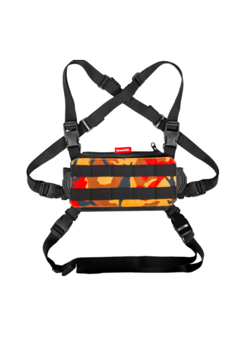 SpeedQB NUCLEUS CHEST RIG (NCR) – ORANGE CAMO
