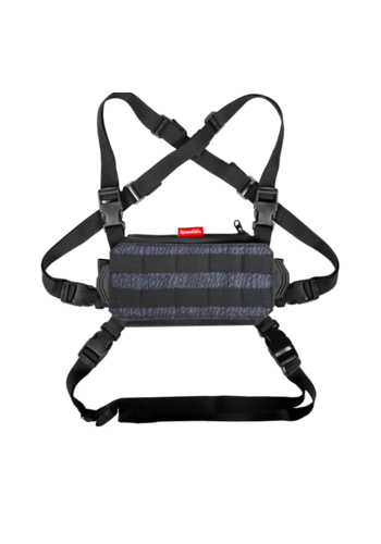 SpeedQB NUCLEUS CHEST RIG (NCR) – PYRITE BLACK