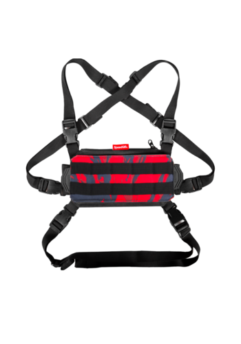 SpeedQB NUCLEUS CHEST RIG (NCR) – RED TIGER