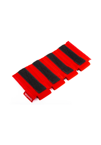 SpeedQB PROTON MAG POUCH – PISTOL (QUAD STACK) – RED