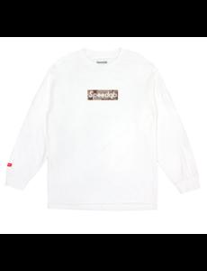 SpeedQB DESERT CAMO BOX LOGO LS TEE – WHITE