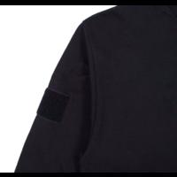 thumb-BLUE GLITCH CAMO BOX LOGO LS TEE – BLACK-3