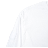 thumb-BLUE GLITCH CAMO BOX LOGO LS TEE – WHITE-3