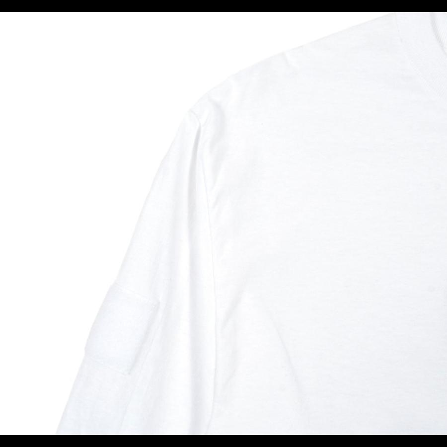 BLUE GLITCH CAMO BOX LOGO LS TEE – WHITE-3