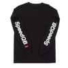 SpeedQB GAUNTLET LONGSLEEVE T-SHIRT – BLACK
