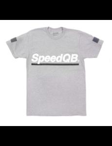 SpeedQB UNDERSCORE T-SHIRT – H. GREY