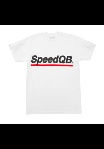 SpeedQB UNDERSCORE T-SHIRT – WHITE