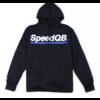 SpeedQB TECH HOODIE - BLACK/BLUE