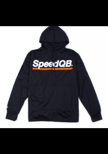 SpeedQB TECH HOODIE - BLACK/ORANGE