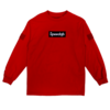 SpeedQB BOX LOGO LONGSLEEVE T-SHIRT – RED