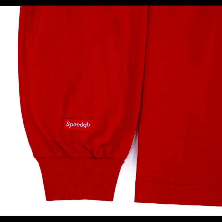 BOX LOGO LONGSLEEVE T-SHIRT – RED-4