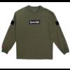 SpeedQB BOX LOGO LONGSLEEVE T-SHIRT – OD GREEN