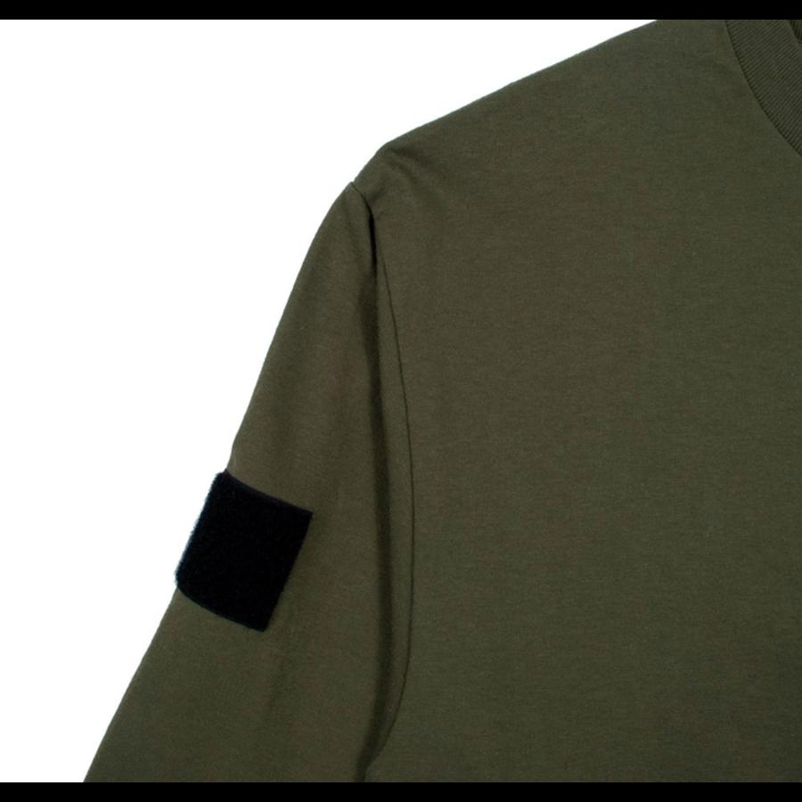 BOX LOGO LONGSLEEVE T-SHIRT – OD GREEN-3