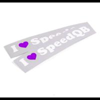 thumb-I LOVE SPEEDQB DECAL – PURPLE (2)-1