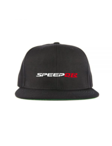 SpeedQB R type 6 panel Snapback - Black
