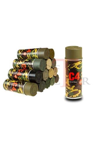 C4 Mil Grade Color Spray RAL6040