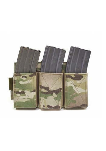 Warrior Assault Systems Triple Elastic Mag Pouch - Multicam