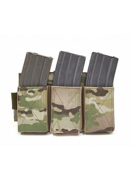 Warrior Assault Systems Triple Elastic Mag Pouch - Multicam