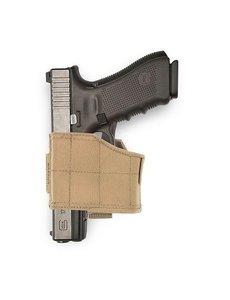 Warrior Assault Systems universal Pistol Holster LEFT - Coyote/Tan