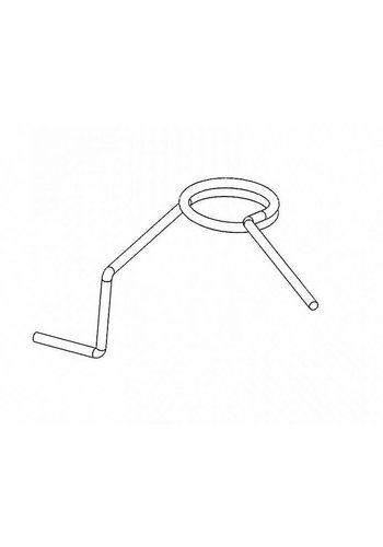Retroarms Anti reversal latch spring