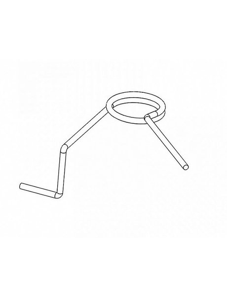 Retroarms Anti reversal latch spring