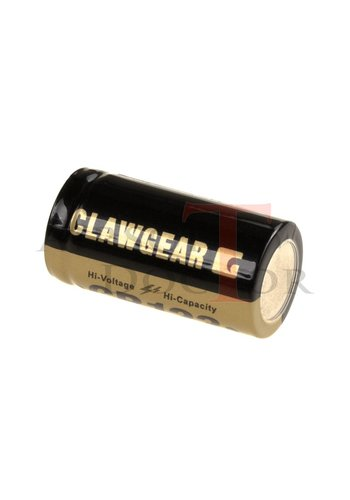 Claw Gear CR123 Lithium 3V