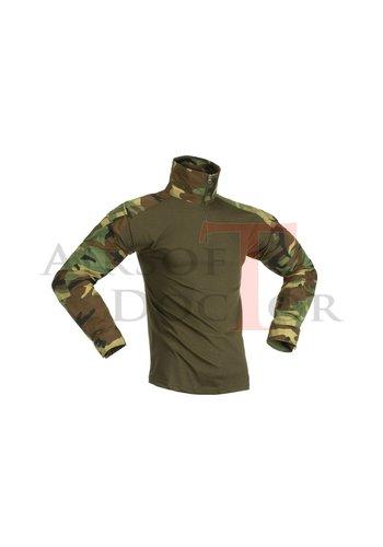 Invader Gear Combat Shirt - Woodland