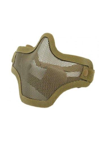 WEEU Nuprol Mesh Lower Face Shield V1 - Tan