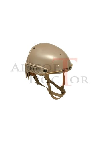 FMA CP Helmet - Tan & WLC 3 hole Shroud - Tan