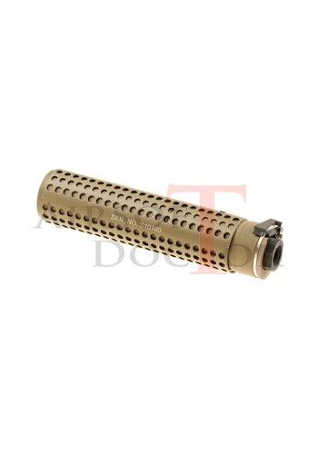 Airsoft Doctor KAC QD 168mm Silencer CCW - Tan